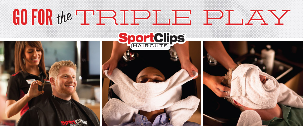 The Sport Clips Haircuts of Olathe - Southgate Triple Play